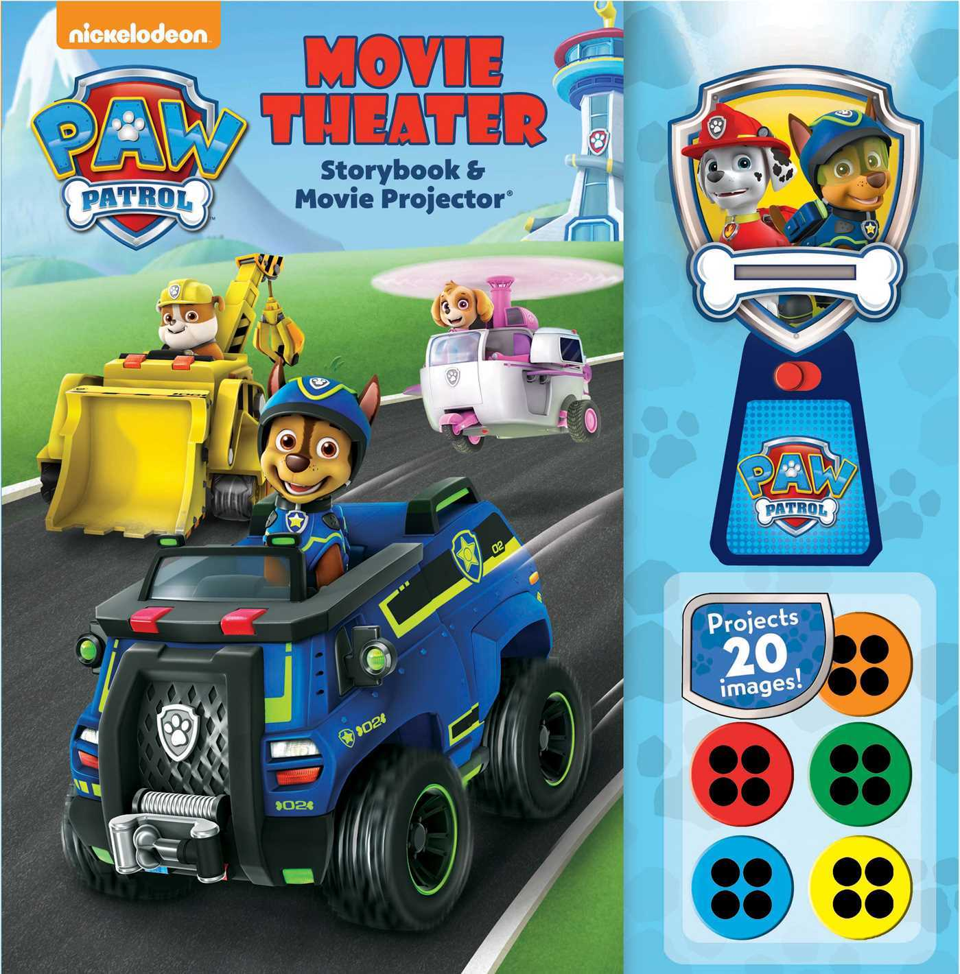 PAW Patrol: Movie Theater Storybook  Movie Projector