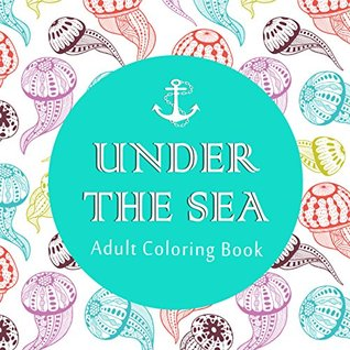 Under The Sea Adult Coloring Book