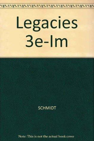 Legacies: Fiction, Poetry, Drama, Nonfiction (