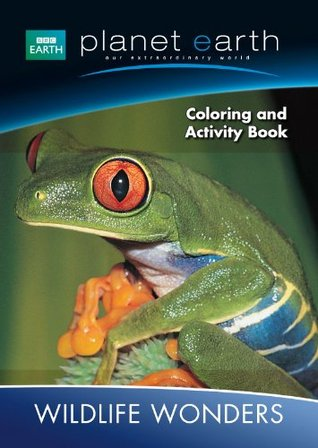 Planet Earth Giant Coloring & Activity Book ~ Wildlife Wonders