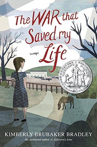 Image result for The war that saved my life by Kimberly Brubaker Bradley