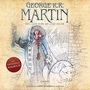 The Official A Game Of Thrones Coloring Book An Adult Coloring Book