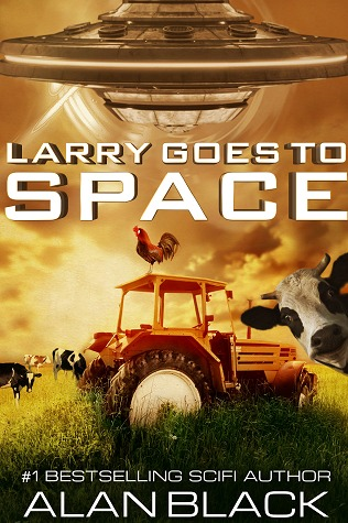 Larry Goes To Space by Alan  Black