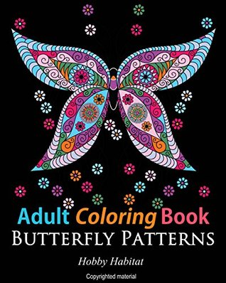 Adult Coloring Books Butterfly Sample Patterns 31 Gorgeous