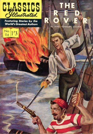 The Red Rover (Classics Illustrated, #114)