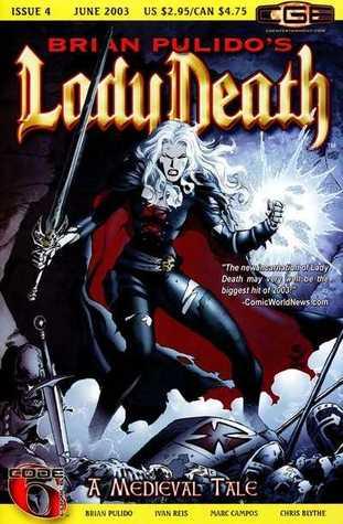 Brian Pulido's Lady Death: A Medieval Tale #4