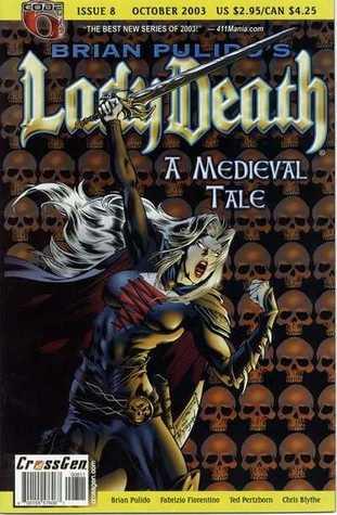 Brian Pulido's Lady Death: A Medieval Tale #8