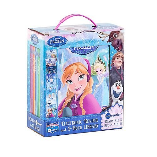 Disney Frozen Electronic Reader and 8 Book Library