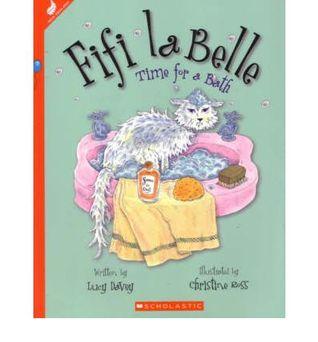 Fifi la Belle: Time for a Bath