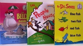 One Fish Two Fish Red Fish Blue Fish / In A People House / The Belly Book -3 Book Set (I Can Read It