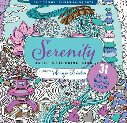 Serenity Adult Coloring Book: 31 Stress-Relieving Designs