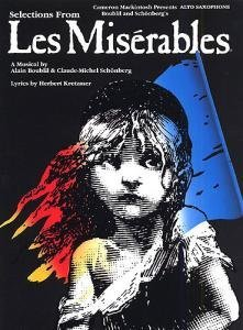 Selections From Les Miserables For Alto Saxophone