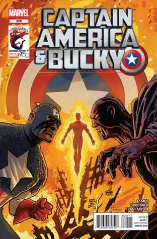 Captain America and Bucky 628