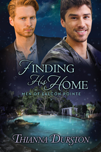 Finding His Home (Men of Falcon Pointe, #2)