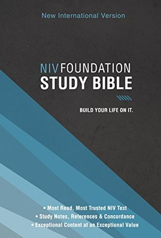 Niv Foundation Study Bible By Anonymous