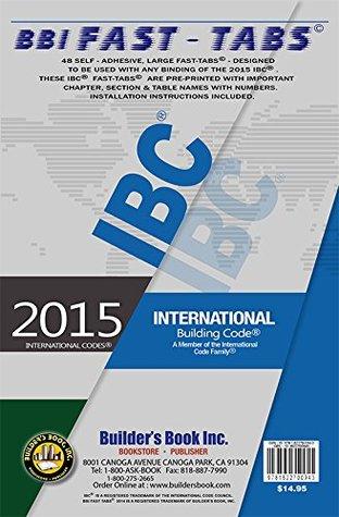 International Building Code 2015 IBC--BBI Fast-Tabs