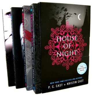House of Night Novel 4 Books Collection Box Set By P.C & Kristian Cast (Untam...