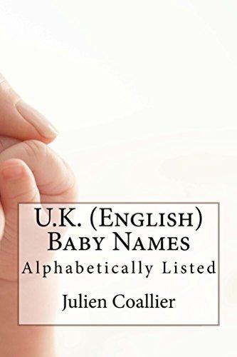 U.K. (English) Baby Names: Alphabetically Listed