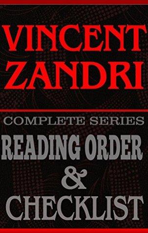 VINCENT ZANDRI: Book Reading Order & Checklist.: Greatest Authors Reading Order & Book Checklists