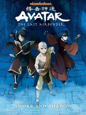 Avatar: The Last Airbender - Smoke and Shadow (Avatar: The Last Airbender, Library Edition, #4)