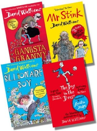 David Walliams Collection - 4 Books [The Boy in the Dress, Mr Stink, Billionaire Boy & Gangsta Granny]