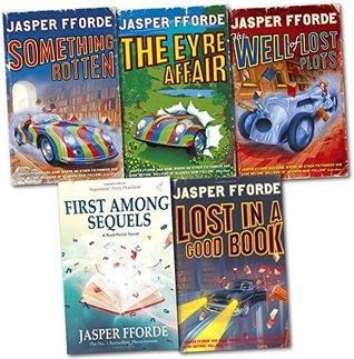 Jasper Fforde Thursday Next Series 5 Books Collection Set