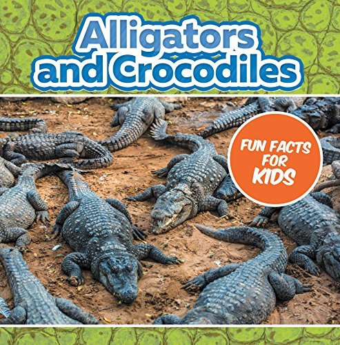 Alligators and Crocodiles Fun Facts For Kids: Animal Encyclopedia for Kids - Wildlife (Children's Animal Books)