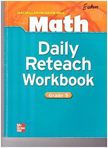 Math Daily Reteach Workbook Grade 5