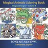 Magical Animals Coloring Book: Magical Designs