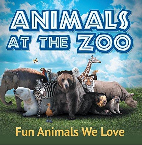Animals at the Zoo: Fun Animals We Love: Zoo Animals for Kids (Children's Zoo Books)