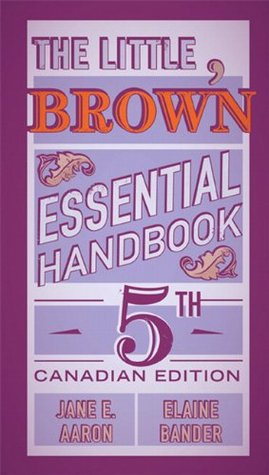 The Little, Brown Essential Handbook, Fifth Canadian Edition Plus NEW MyCanadianCompLab with Pearson eText -- Access Card Package (5th Edition)