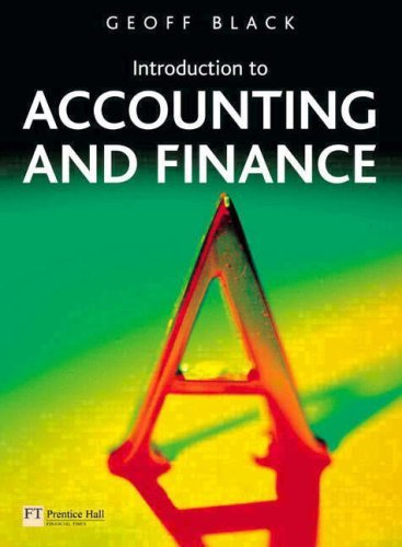 Introduction to Accounting and Finance: AND OneKey Website Access Card