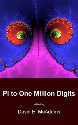 Pi to One Million Digits (Math Books for Children)
