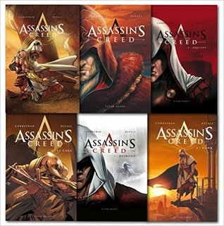 Assassins Creed 6 Books Graphic Novel Collection Set (Assassin's Creed #1-6)