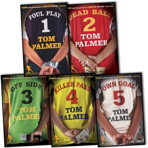 Tom Palmer Football Detective 5 Books Collection Pack Set RRP: £34.95