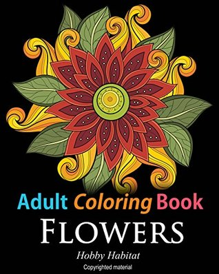 Adult Coloring Books Flower Sample Patterns For