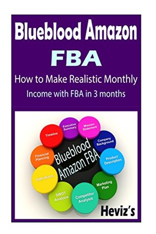 Blueblood Amazon FBA : How to Make Realistic Monthly Income With FBA In 3 months