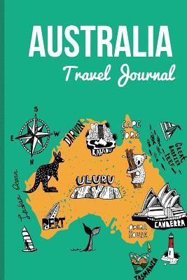 Australia Travel Journal: Wanderlust Journals por Lana Barce