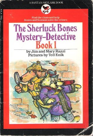 Sherluck Bones Mystery-Detective, Book 1