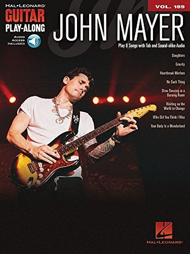 John Mayer: Guitar Play-Along Volume 189