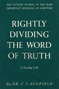 rightly dividing the word of truth scofield pdf