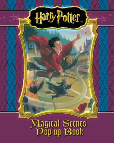 harry potter literary: magical scenes - pop-up book