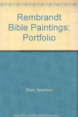 Rembrandt Bible Paintings: Portfolio