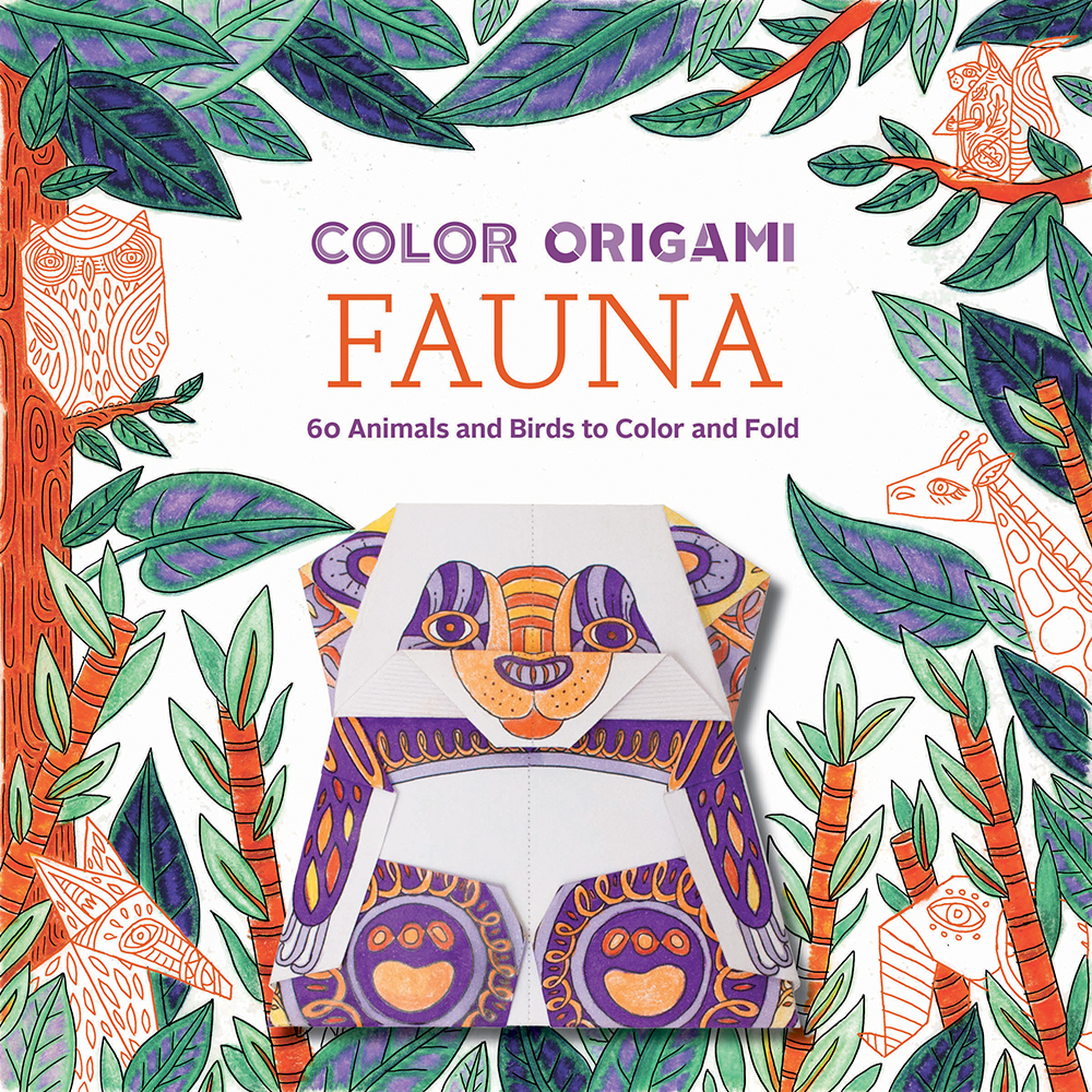 Color Origami: Fauna (Adult Coloring Book): 60 Animals and Birds to Color and Fold