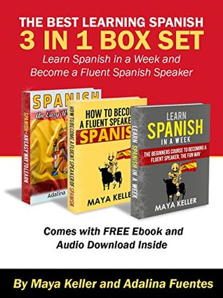 The Best Learning Spanish 3 in 1 Box Set (Free 5 and 1/2