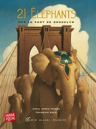 21 elephants on the Brooklyn Bridge