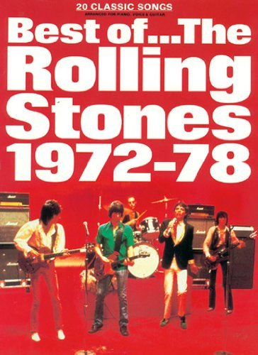 Best of the Rolling Stones 1972 - 78: (Piano Vocal Guitar): v. 2