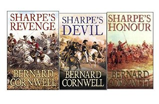 Bernard Cornwell Sharpe's Series Collection 3 Books Set, (Sharpe's Honour: The Vitoria Campaign, February to June 1813, Sharpe's Revenge: The Peace of 1814 and Sharpe's Devil: Napoleon and South America, 1820-1821)
