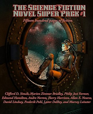 The Science Fiction Novel Super Pack No. 1: 'Empire' by Clifford D. Simak; 'Falcons of Narabedla' by Marion Zimmer Bradley; 'The Green Odyssey' by Philip ... Alan E. Nourse; 'A Voyage to Arcturus' by...