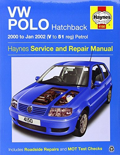 VW Polo Hatchback Petrol Service and Repair Manual: 2000 to 2002